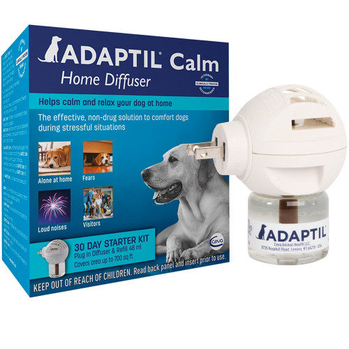 ADAPTIL Calm On-the-Go Collar with Calm Home 30 Day starter kit Diffuser and Refill