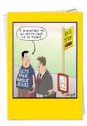 Bus Stop Tim Whyatt (Blank)  Card