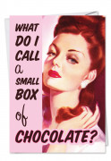 Small Box of Chocolate Card