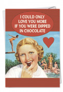Dipped in Chocolate Card