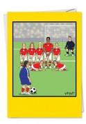 Soccer Balls Card