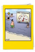 Water Temp Card