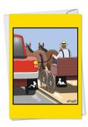 Amish Mudflap Card