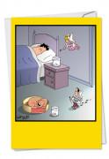 Testicle Fairy Card