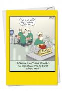 Obsessive Compression Disorder Card