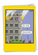 Golf Clubs Fire Card