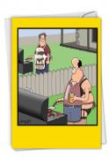 Man Aprons Card