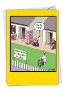 Panty Raid Card
