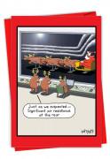 Santa Aerodynamics Card
