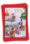 Holiday Sewing Card