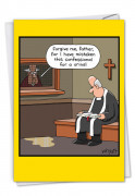 Urinal Confession Card