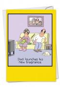 Dad's Fragrance Card
