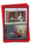 Santa Confessional Card