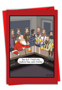 Christmas Hipsters Card