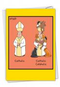 Catholic Cataholic Card