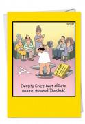 Bangkokless Tim Whyatt (Blank)  Card