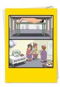 Bob For Apples Tim Whyatt (Blank) Card