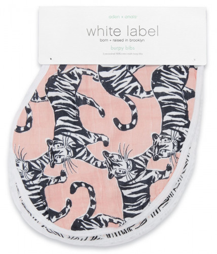Aden + Anais White Label Burpy Bibs - 2 Pack - Pacific Paradise