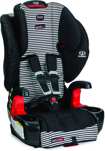 Britax Frontier ClickTight Harness Booster Car Seat 2018 Tuxedo