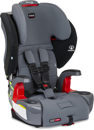 Britax Grow With You ClickTight Booster Car Seat - Otto Safe Wash (Albee Baby Exclusive)