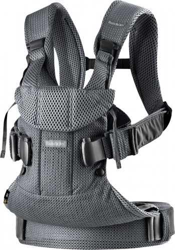BabyBjorn Baby Carrier One Air, 3D Mesh - Anthracite