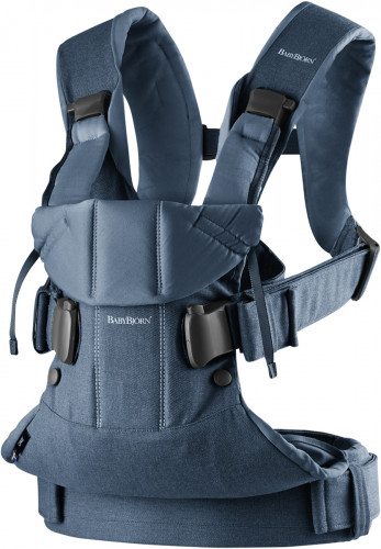 BabyBjorn Baby Carrier One - Classic Denim/Midnight Blue