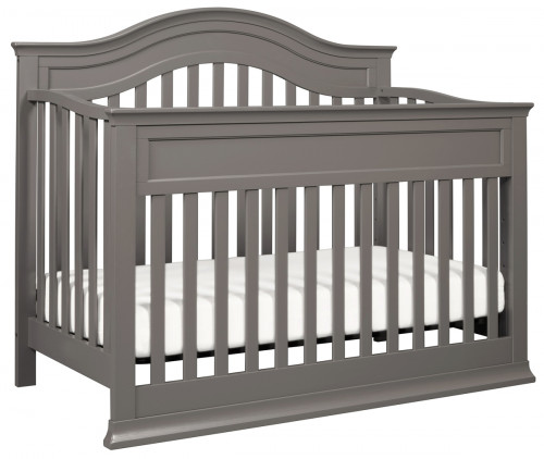DaVinci Brook 4-in-1 Convertible Crib With Toddler Bed Conversion Kit in Slate Finish