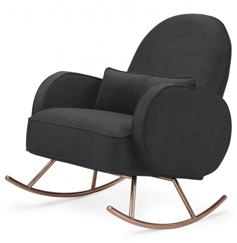 Nursery Works Compass Rocker - Coal Grey