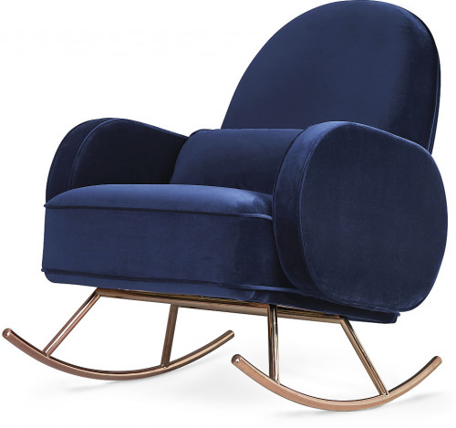 Nursery Works Compass Rocker - Navy Velvet