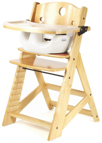 Keekaroo Height Right High Chair & Infant Insert - Natural / Vanilla