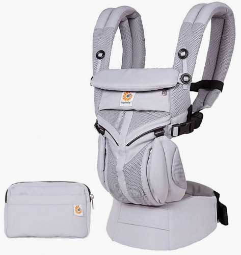 Ergobaby Omni 360 Cool Air Mesh Baby Carrier - Lilac