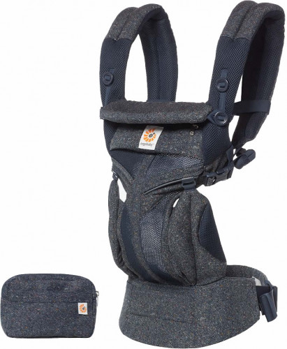 Ergobaby Omni 360 Cool Air Mesh Baby Carrier - Blue Tweed