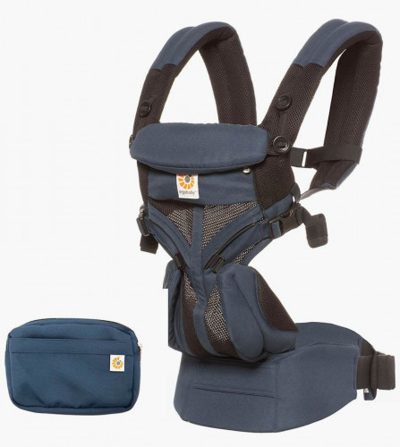 Ergobaby Omni 360 Cool Air Mesh Baby Carrier - Raven
