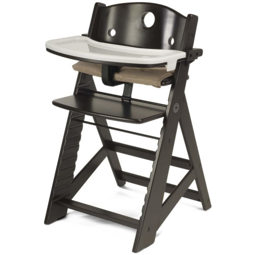 Keekaroo Height Right High Chair with Tray - Espresso
