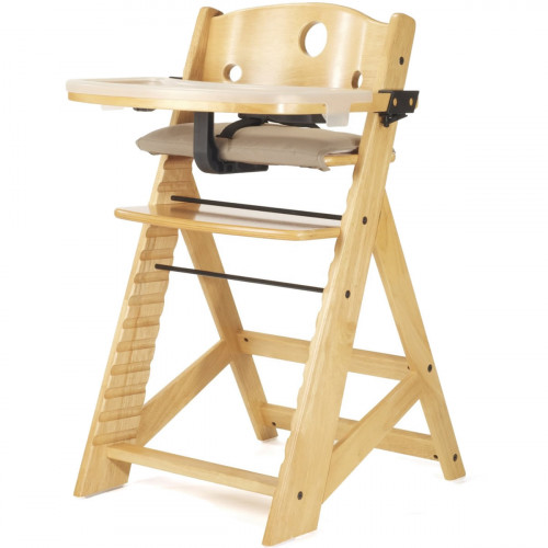 Keekaroo Height Right High Chair with Tray - Natural