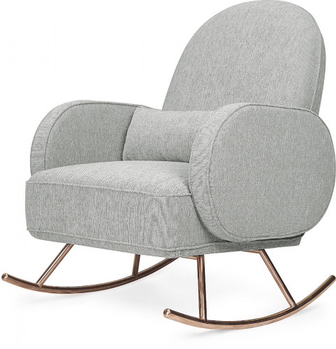 Nursery Works Compass Rocker - Light Grey Weave
