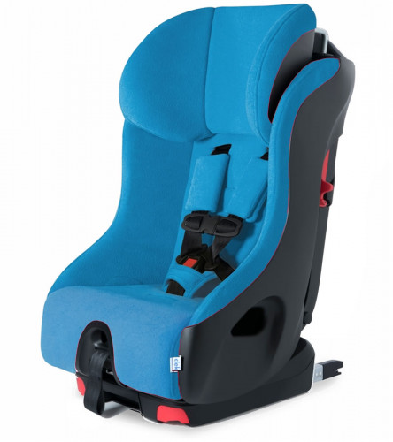 Clek Foonf Convertible Car Seat with Anti-Rebound Bar - Blue Jay C-Zero Plus (Albee Exclusive)