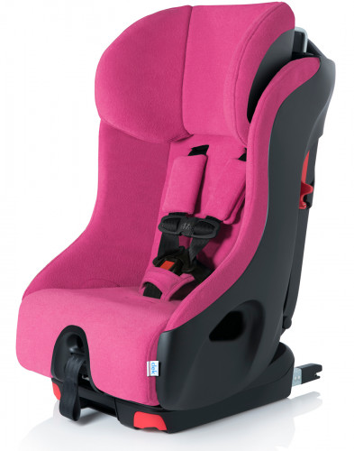 Clek Foonf Convertible Car Seat with Anti-Rebound Bar - C-Zero Flamingo
