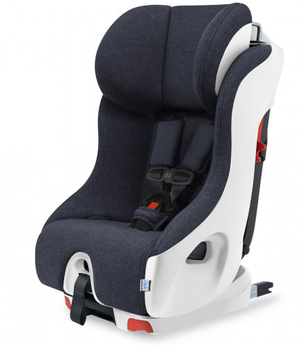 Clek Foonf Convertible Car Seat with Anti-Rebound Bar - Full Moon (Merino Wool)