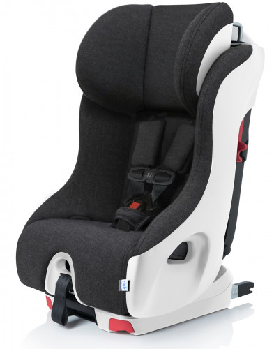 Clek Foonf Convertible Car Seat with Anti-Rebound Bar - Winter Mammoth Wool (FR FREE)