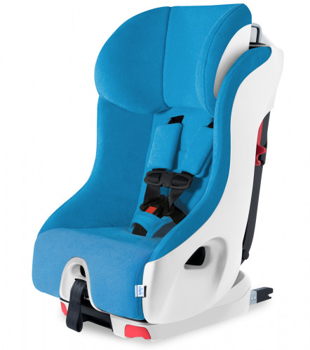 Clek Foonf Convertible Car Seat with Anti-Rebound Bar - Ten Year Blue (C-Zero)