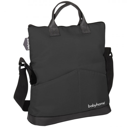 BabyHome Trendy Diaper Bag - Black