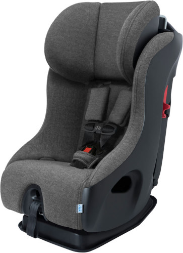 Clek Fllo Convertible Car Seat with Anti-Rebound Bar - Chrome Jersey Knit (Albee Exclusive)