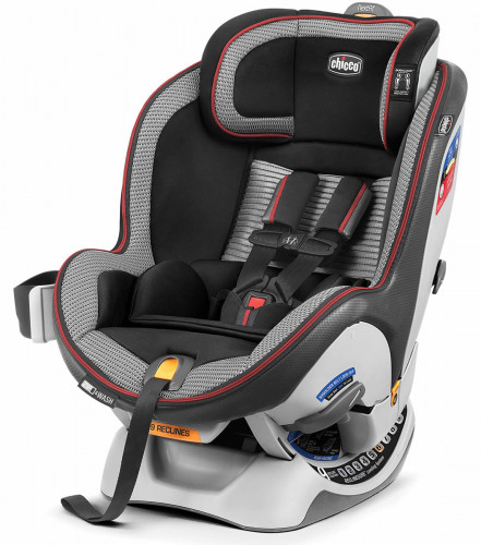 Chicco NextFit Zip Air Convertible Car Seat - Rosso
