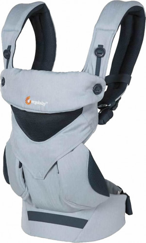 Ergobaby 360 Four Position Baby Carrier - Cool Air - Chambray