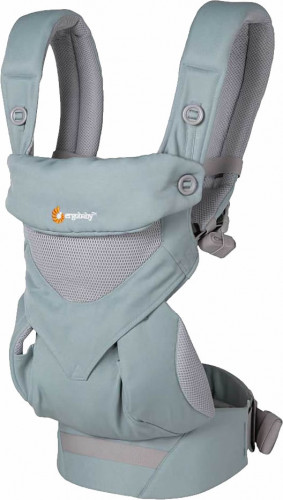 Ergobaby 360 Four Position Baby Carrier - Cool Air - Sea Mist