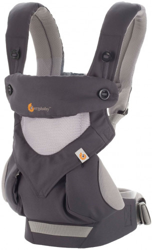 Ergobaby 360 Four Position Baby Carrier - Carbon Grey