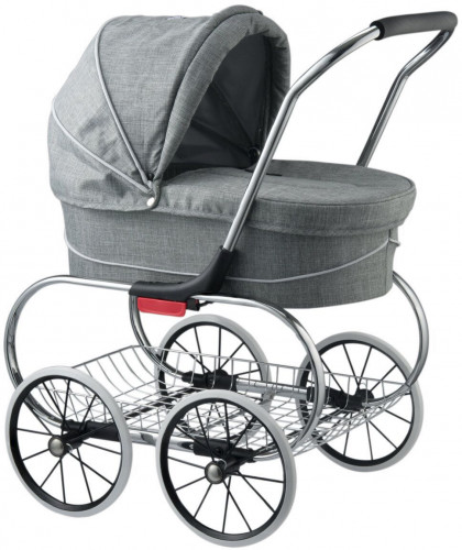 Valco Princess Tailormade Doll Stroller - Grey Marle