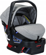 Britax B-Safe Ultra Infant Car Seat - Nanotex (Moisture, Odor, and Stain Resistant Fabric)