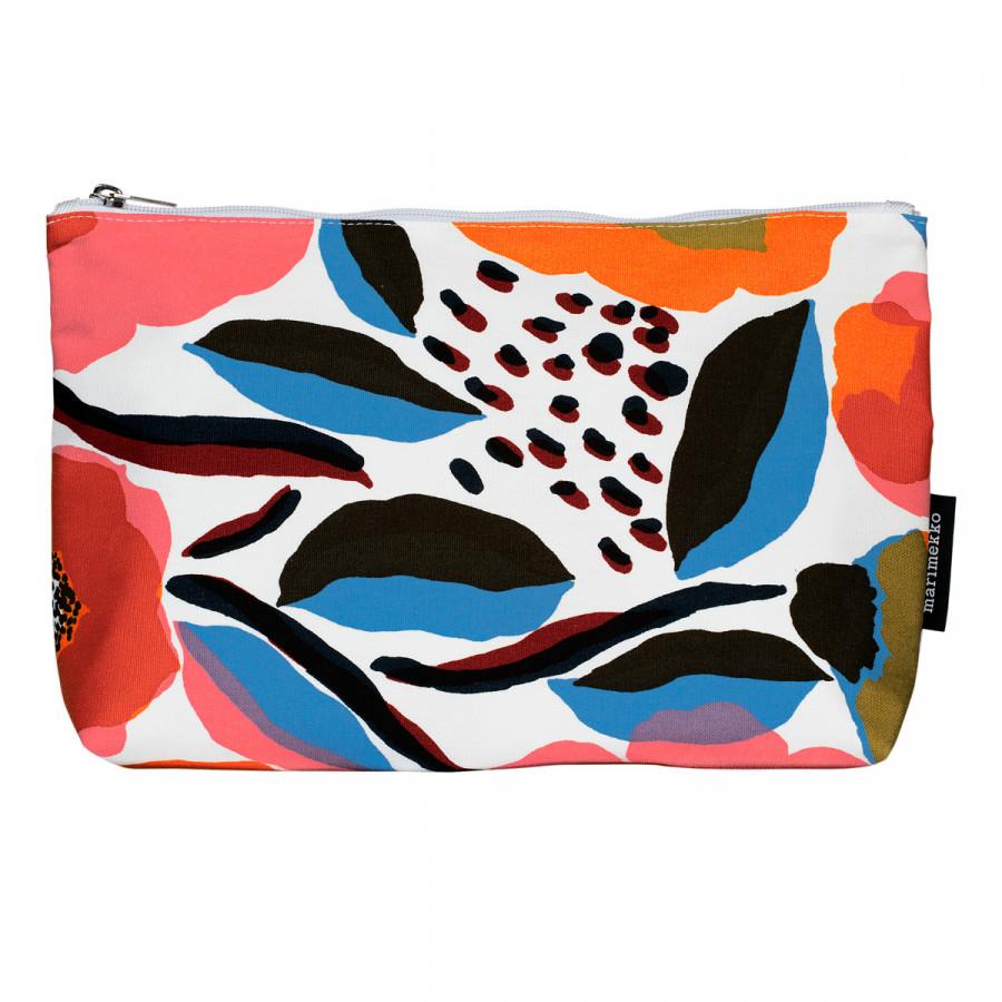 Marimekko Rosarium White / Multi Relle Cosmetic Bag